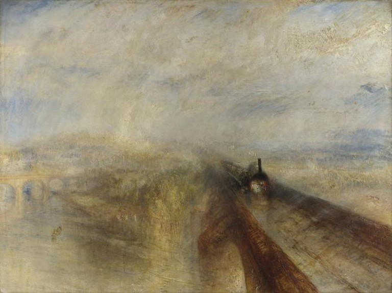 J. M. W. Turner, 'Rain, Steam and Speed'