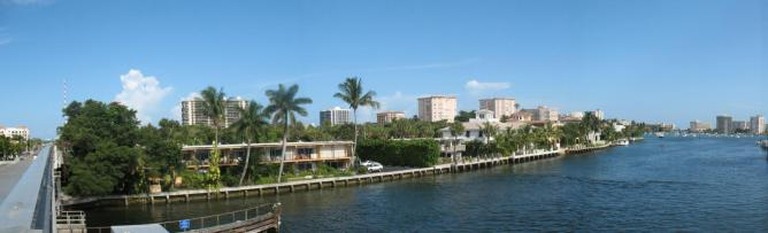 The skyline of Boca Raton, Florida's beachfront area © ReignMan/Wikipedia