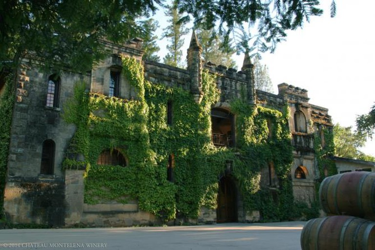 Exterior of Chateau Montelena | Courtesy of Chateau Montelena Winery