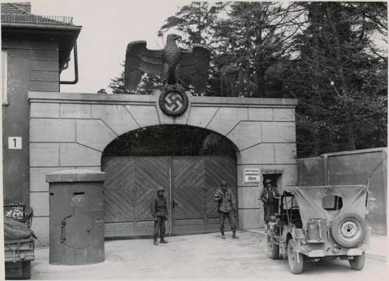 Dachau Concentration Camp Entrance