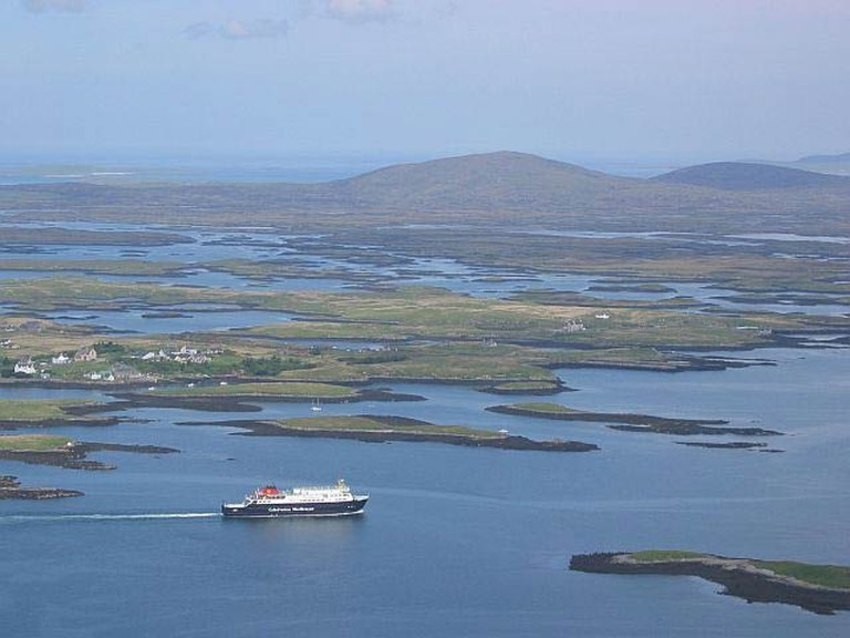 Outer Hebrides Boat