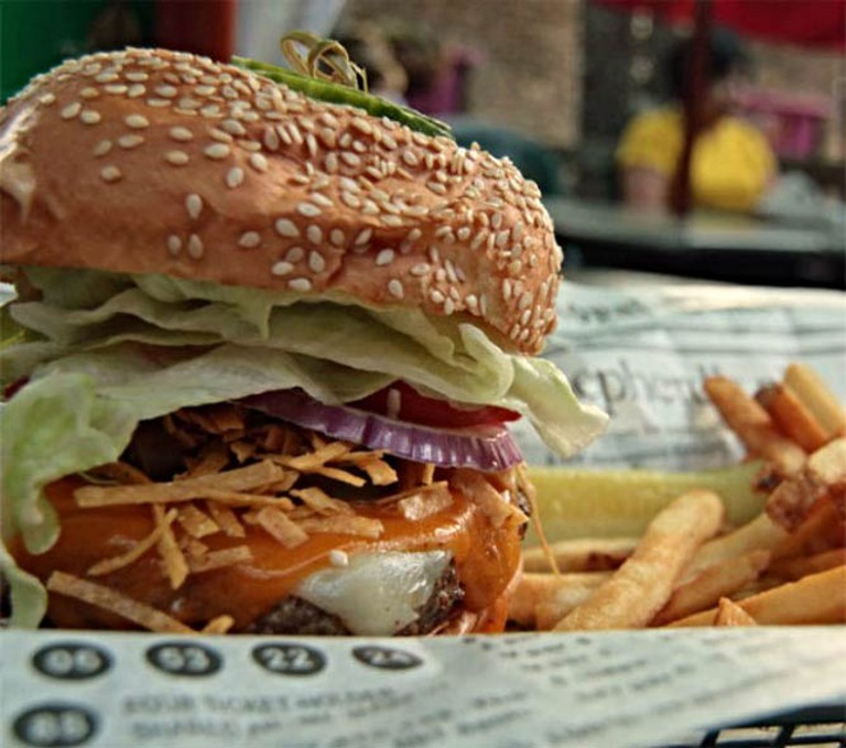 Courtesy of Burger Moe's
