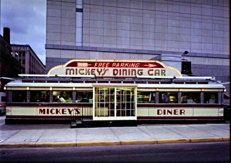 Mickey's Diner Exterior | Courtesy of Mickey's Diner