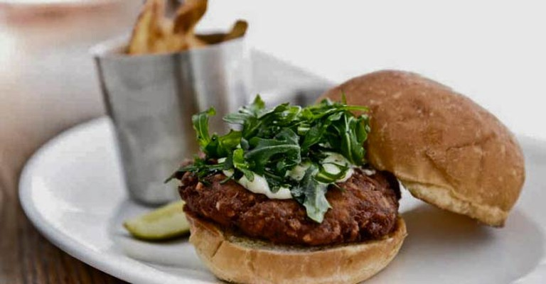 Turkey Burger | Courtesy of Red Cow