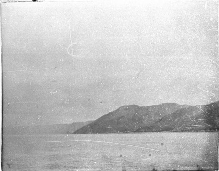 Photo A_001, Straits of Messina - Italy, December 1899 © The Gertrude Bell Archive, Newcastle University