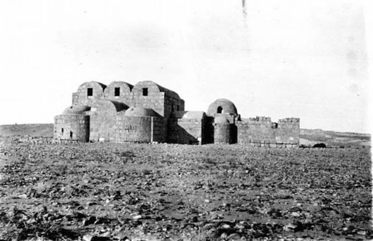 Photo X_008, Hunting Lodge, Amra, Jordan, January, 1914 © The Gertrude Bell Archive, Newcastle University