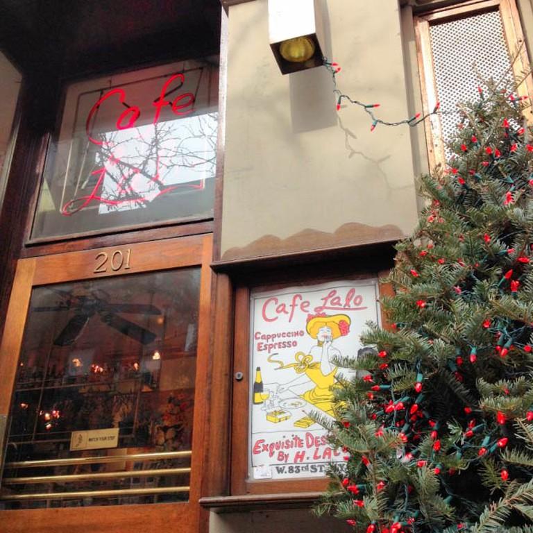Cafe Lalo's entrance