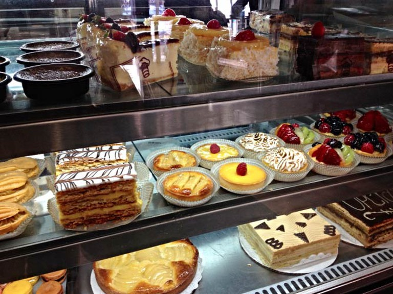French pastries at La Toulousaine