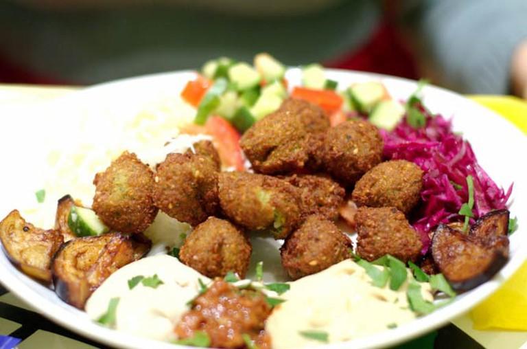 Falafel | © Morbuto /Janek Mann/ Flickr via WikiCommons