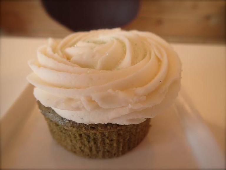 Spirulina Cupcake | Lauren Ferrier