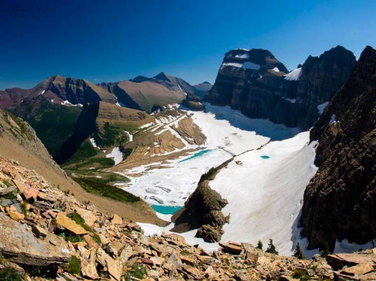 Grinnel Glacier, Glacier National Park   © Sathish J, Flickr