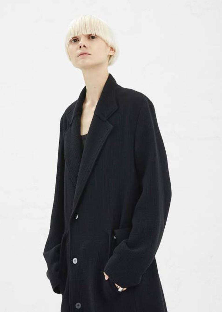 Tillmann Lauterbach Black Abyss Men's Mesens Coat