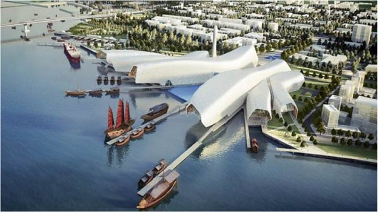 Tianjin National Maritime Museum | © Courier Mail
