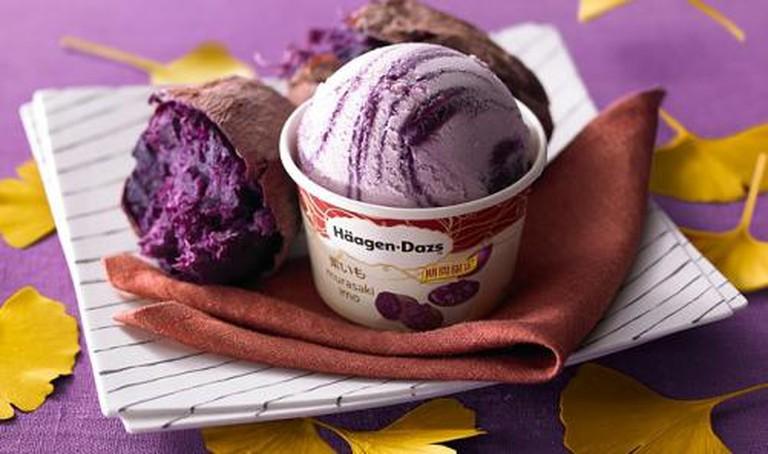 Purple Sweet Potato Häagen-Dazs Ice Cream