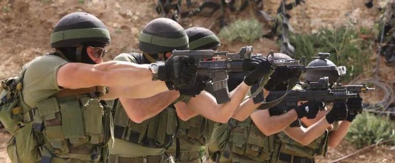 Men Shooting