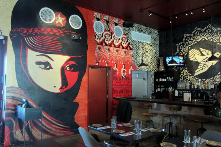 Wynwood Kitchen & Bar - Shepard Fairey © Wally Gobetz/Flickr
