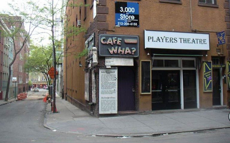 A Creative Commons image: Cafe Wha? I © Behdad/WikiCommons