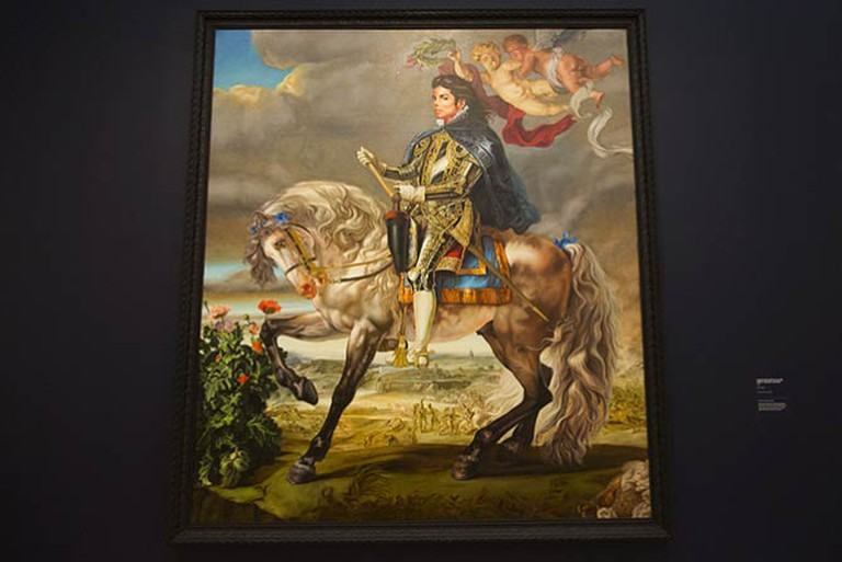 Equestrian Portrait of King Philip the ll 2009 ©Clareese Hill