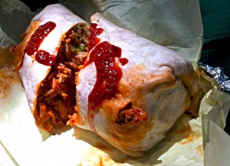 Spicy Pork Kimchee Burrito | © Kirk McCurray/Flickr