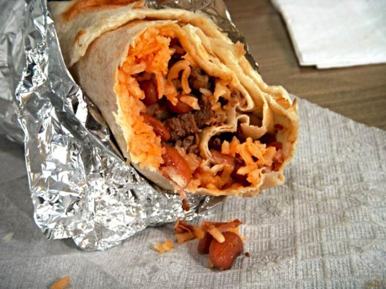 Carne Asada Burrito | © An Mal/Flickr