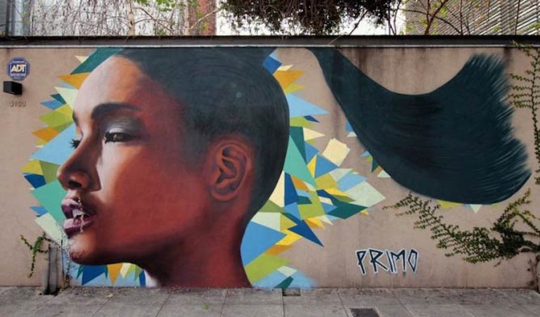 Mural in Coghlan by Primo | © Buenos Aires Street Art