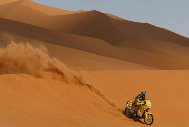 Dakar Rally, 2009. ©Dakar Organization/WikiCommons