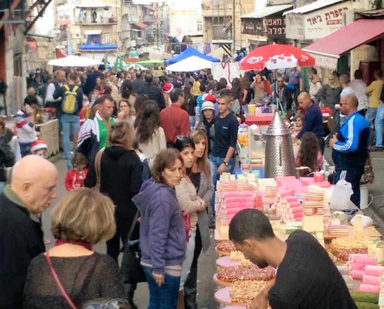 A Street Festival in Haifa