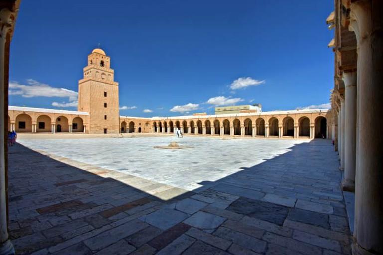The Great Mosque at Kairouan