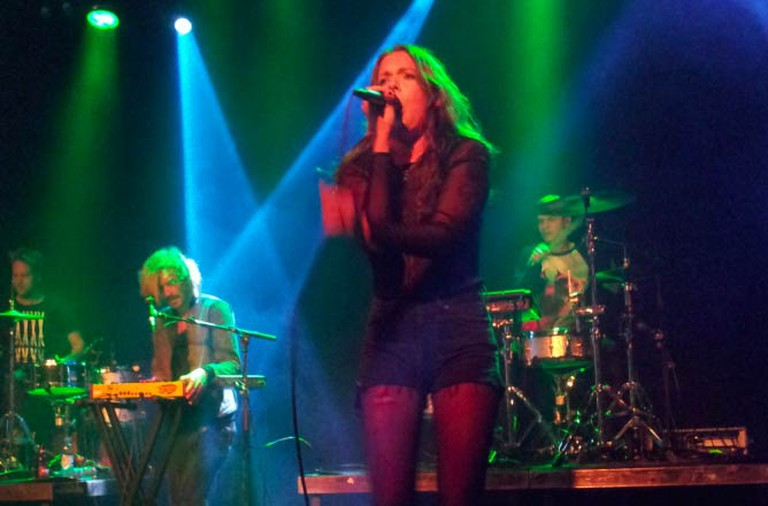 Tove Lo performing at the Tavastia-club in Helsinki | Elve