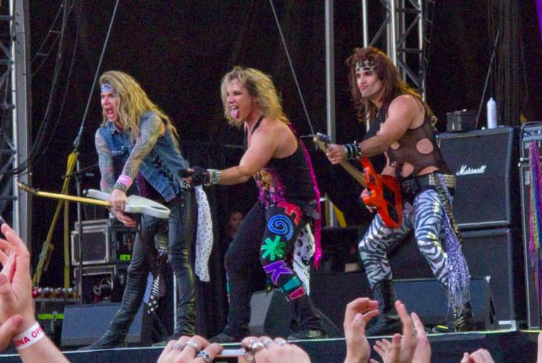 Steel Panther playing at Sauna Open Air Metal Festival 2010 |© Fileri