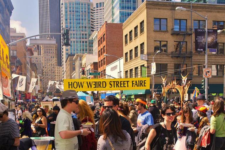 how weird street fair sf