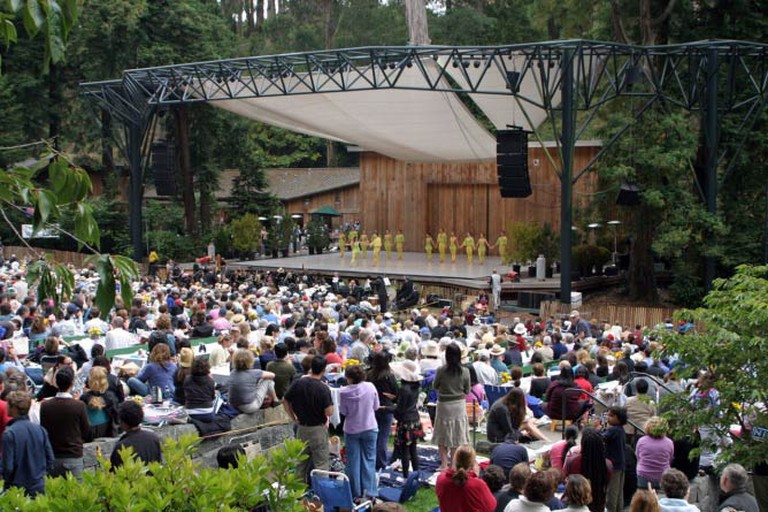 Concert at sterns grove sf