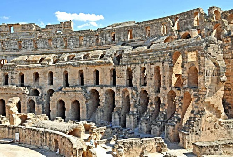 The Amphitheatre at El Djem