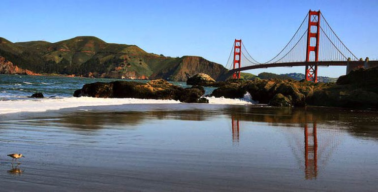 Baker Beach | © Brocken Inaglory/Wikipedia Commons