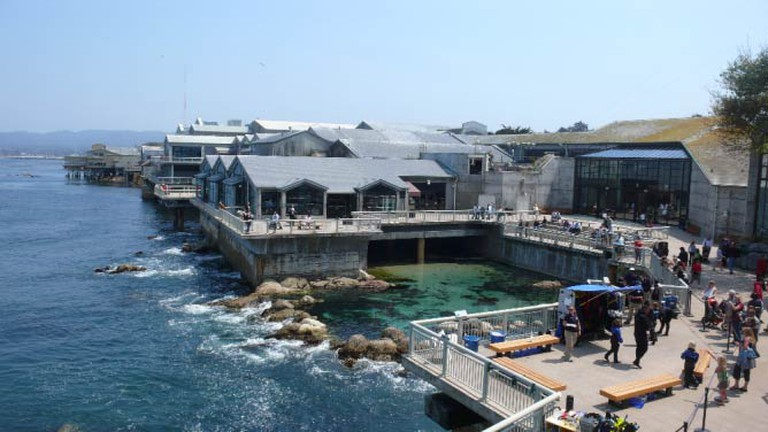 View of the Monterey Aquarium | © Wikipedia