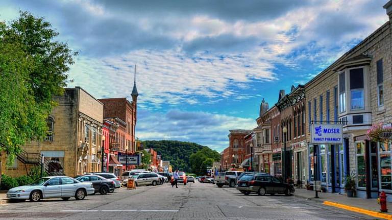 Downtown Elkader
