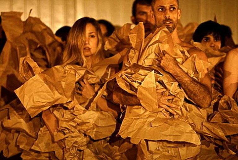 Vertigo dance troupe israel