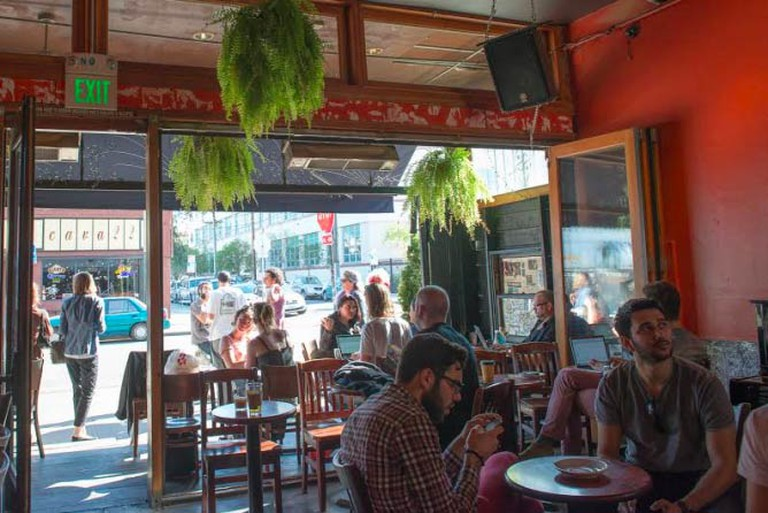 Revolution Café, Photo by Juan Romero Corral