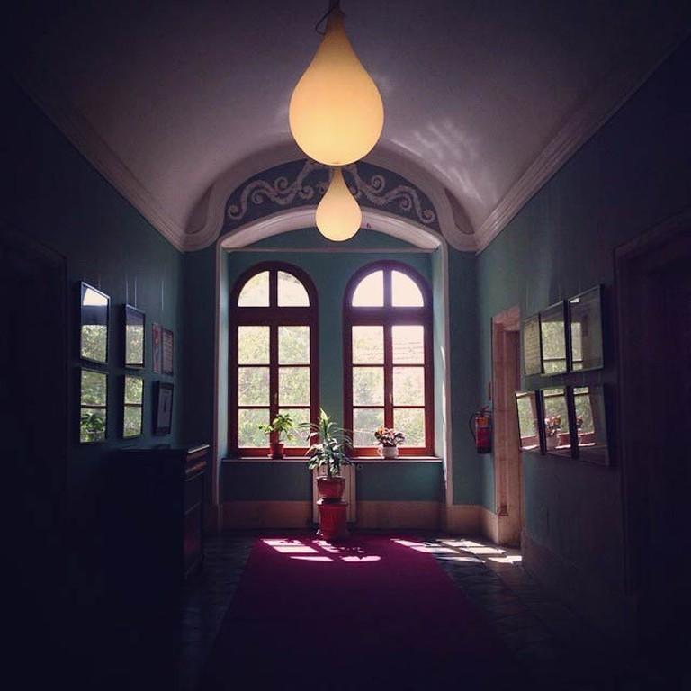 Austrian Hospice interior