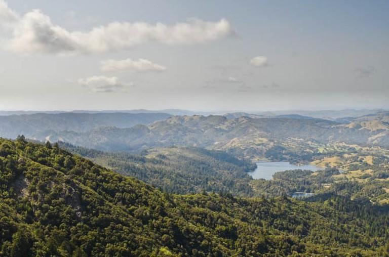 View of Deer Park from Mt. Tamalpais