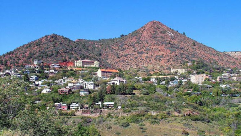 Panoramic view of Jerome | © Donna Chesler/Courtesy of Jerome Chamber of Commerce