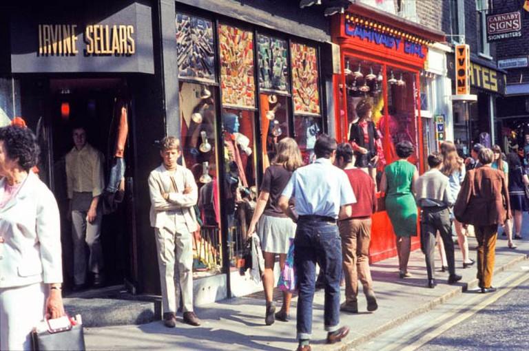 Carnaby Street 1960