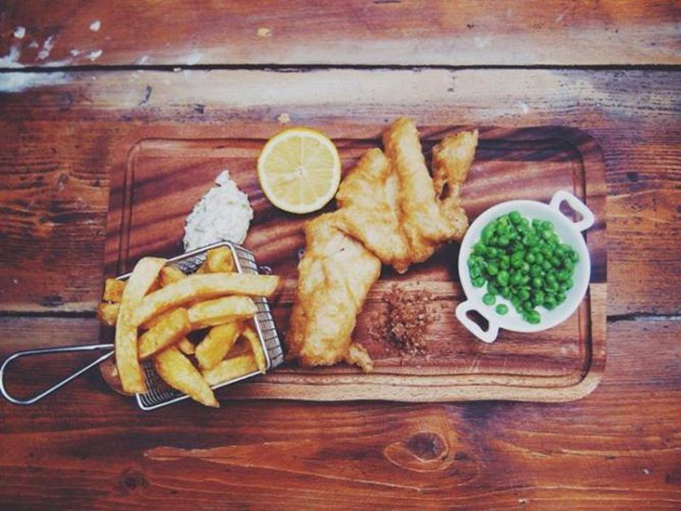 Classic fish and chips | Courtesy Jam Jar