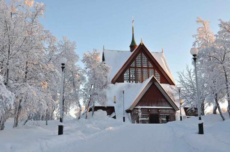 Kiruna Church | © Sanna Ryngmark