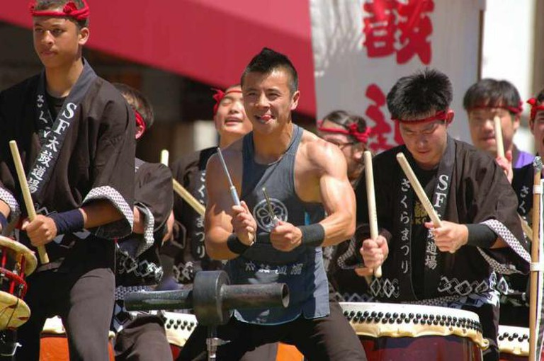 Cherry Blossom Festival SF Japantown | © Kishisaka/Flickr