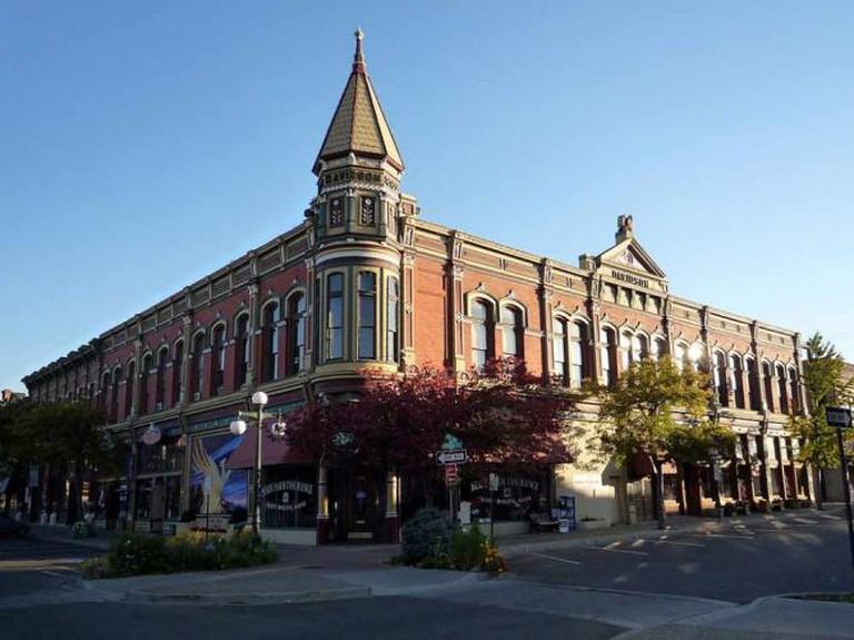 Historic Davidson Building in Ellensburg | © Bobak Ha'Eri/WikiCommons