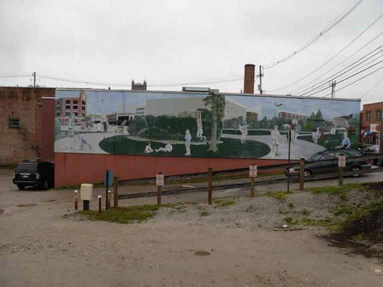 Mural in Rutland   © Doug Kerr/Flickr