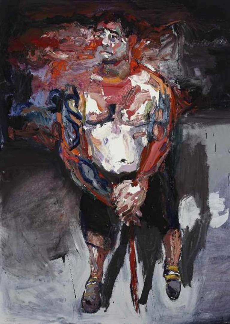 Ben Quilty, Sergeant P. after Afghanistan, 2012