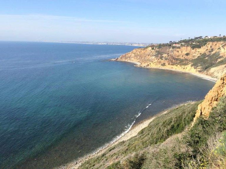Palos Verdes Cove On a Flat day