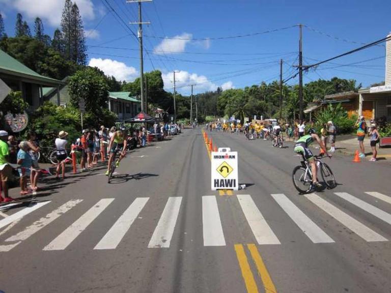 The Ironman turnaround in Hawi